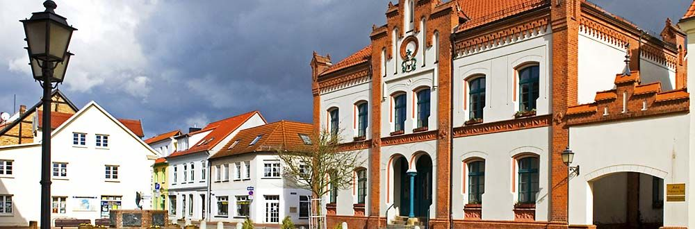 Stadt Krakow Am See